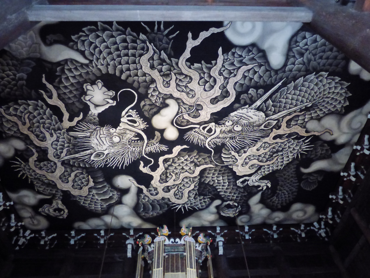 建仁寺の双龍図