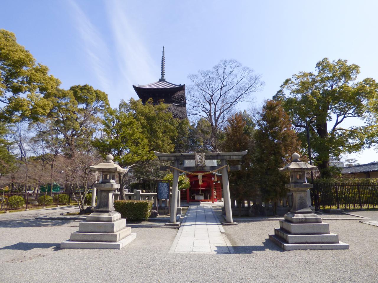 東寺の八島殿