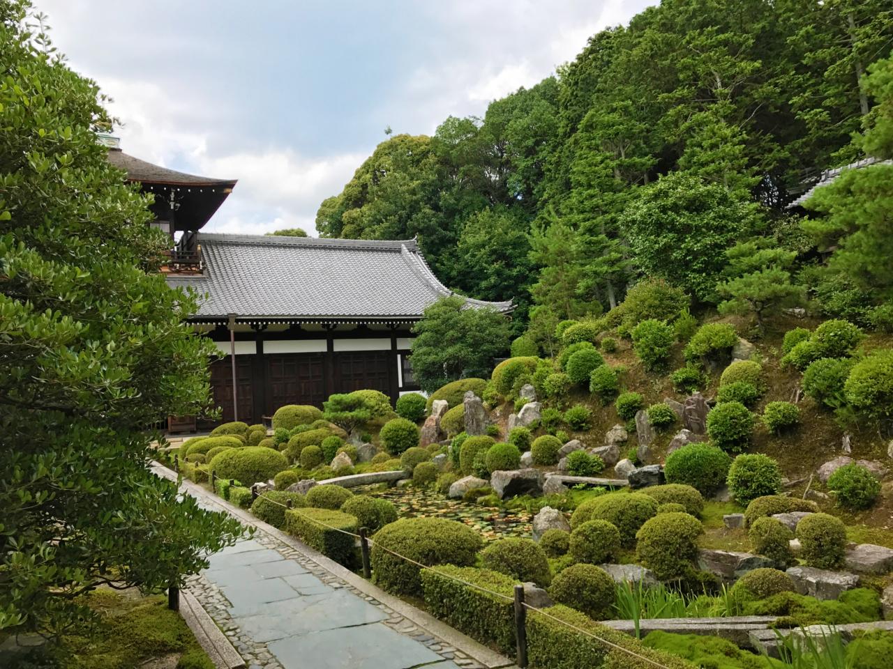 東福寺開山堂の庭