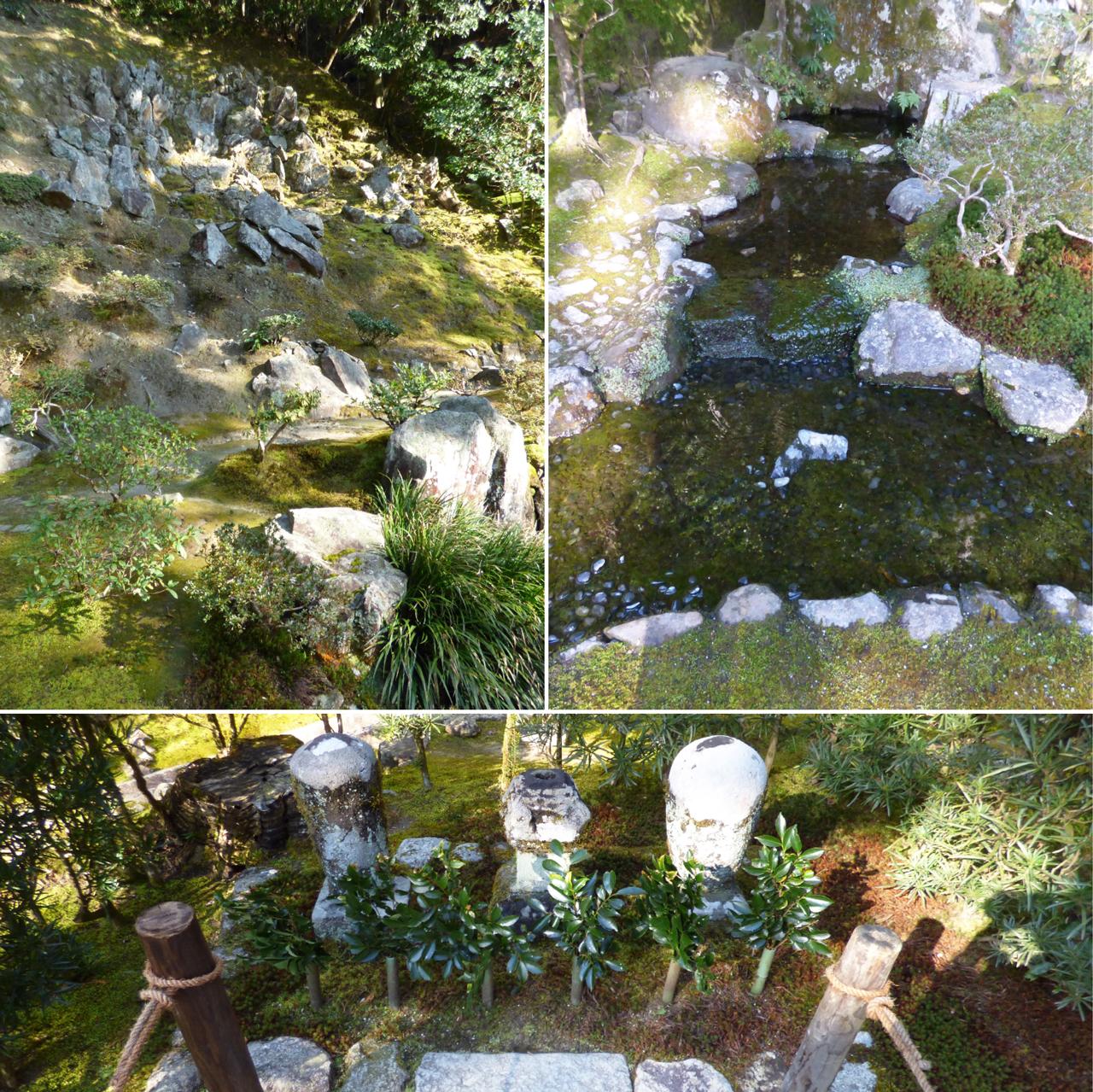 銀閣寺-お茶の井