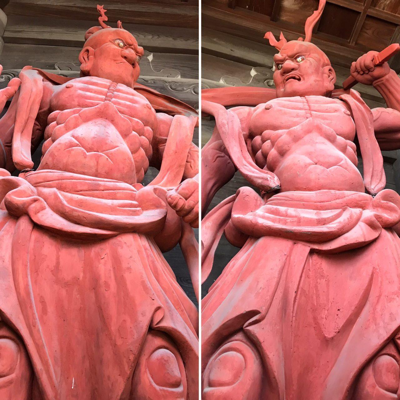 清凉寺の仁王像