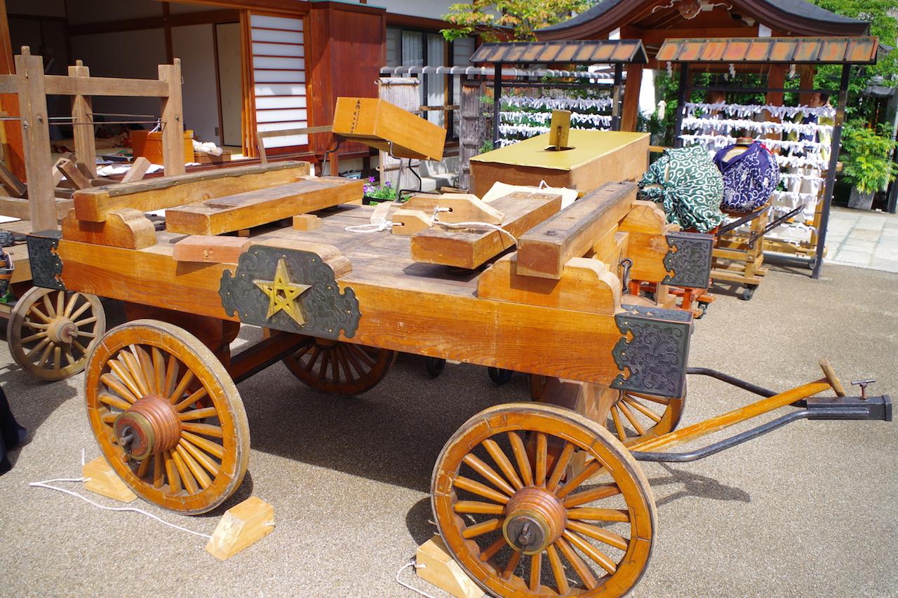 晴明神社 荷車