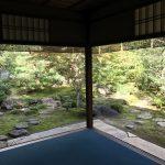 西村家庭園は上賀茂神社側の小さな社家庭園