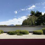正伝寺は比叡山を背景とする借景庭園を楽しめる静かなお寺