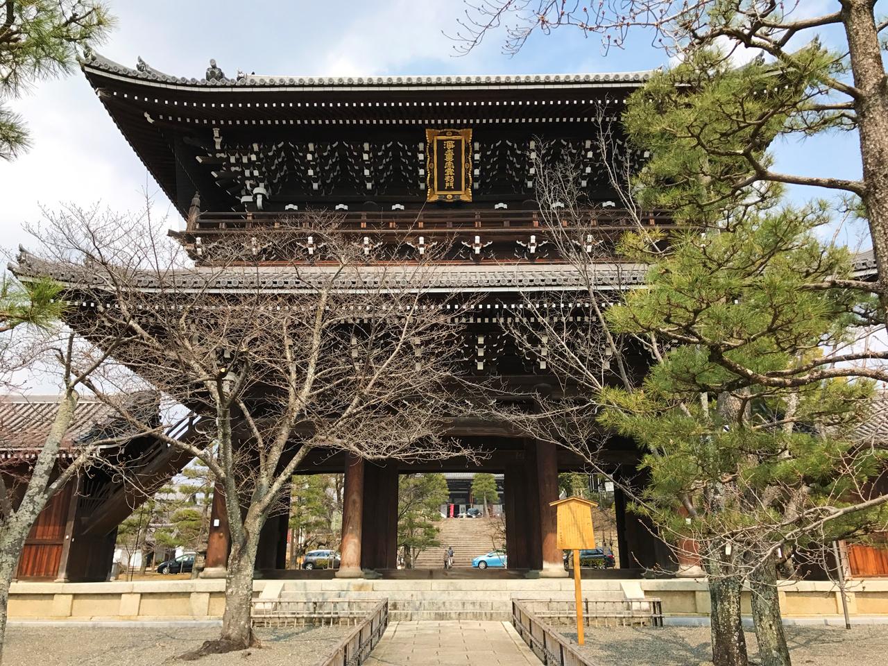 金戒光明寺の山門