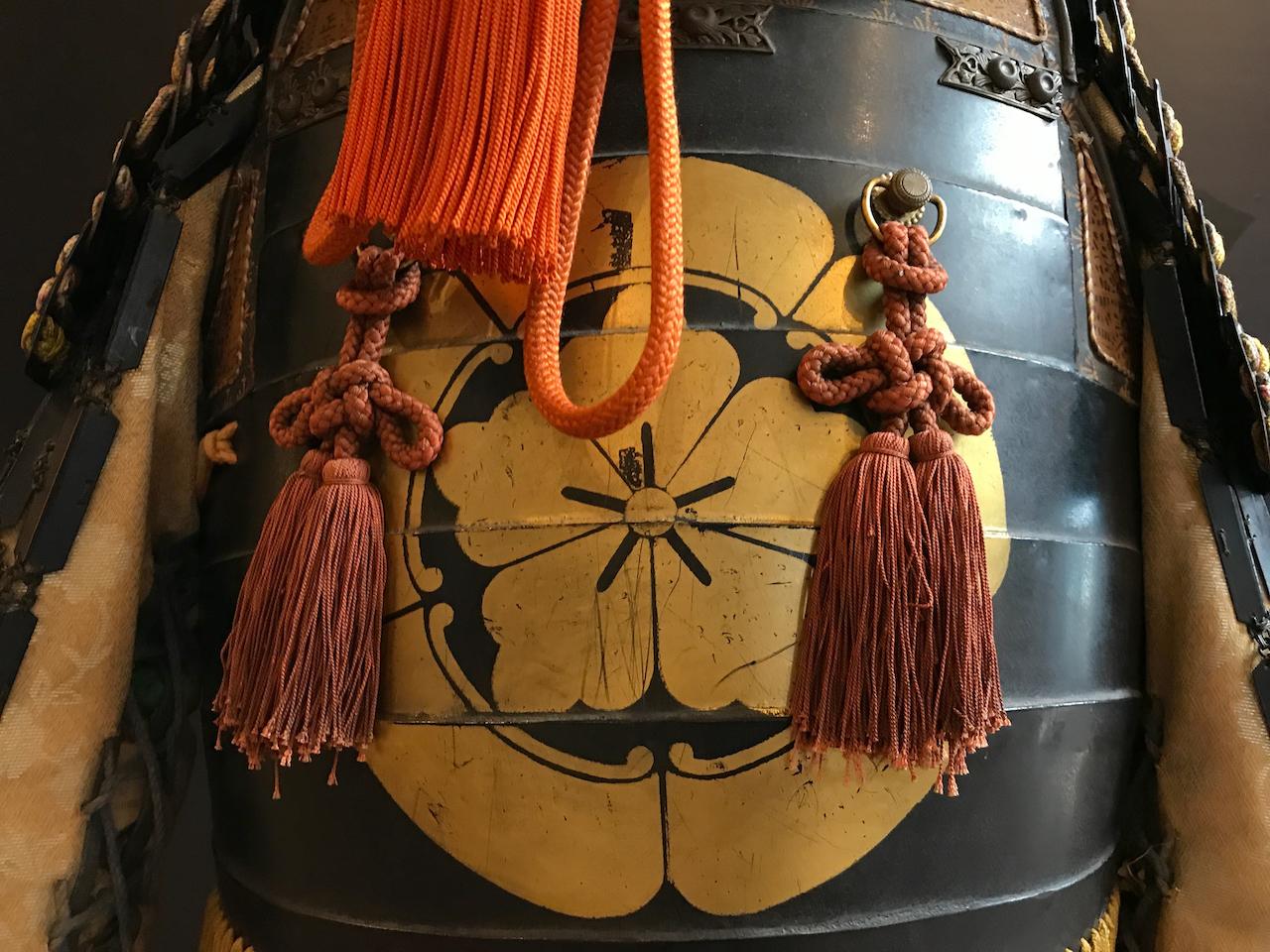 本能寺宝物館の鎧