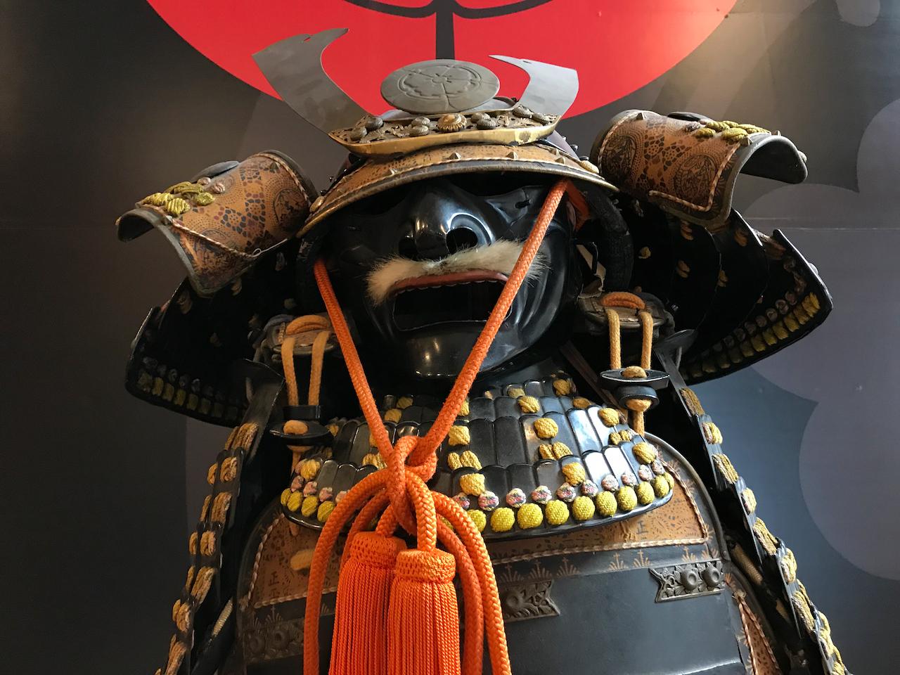 本能寺宝物館の兜