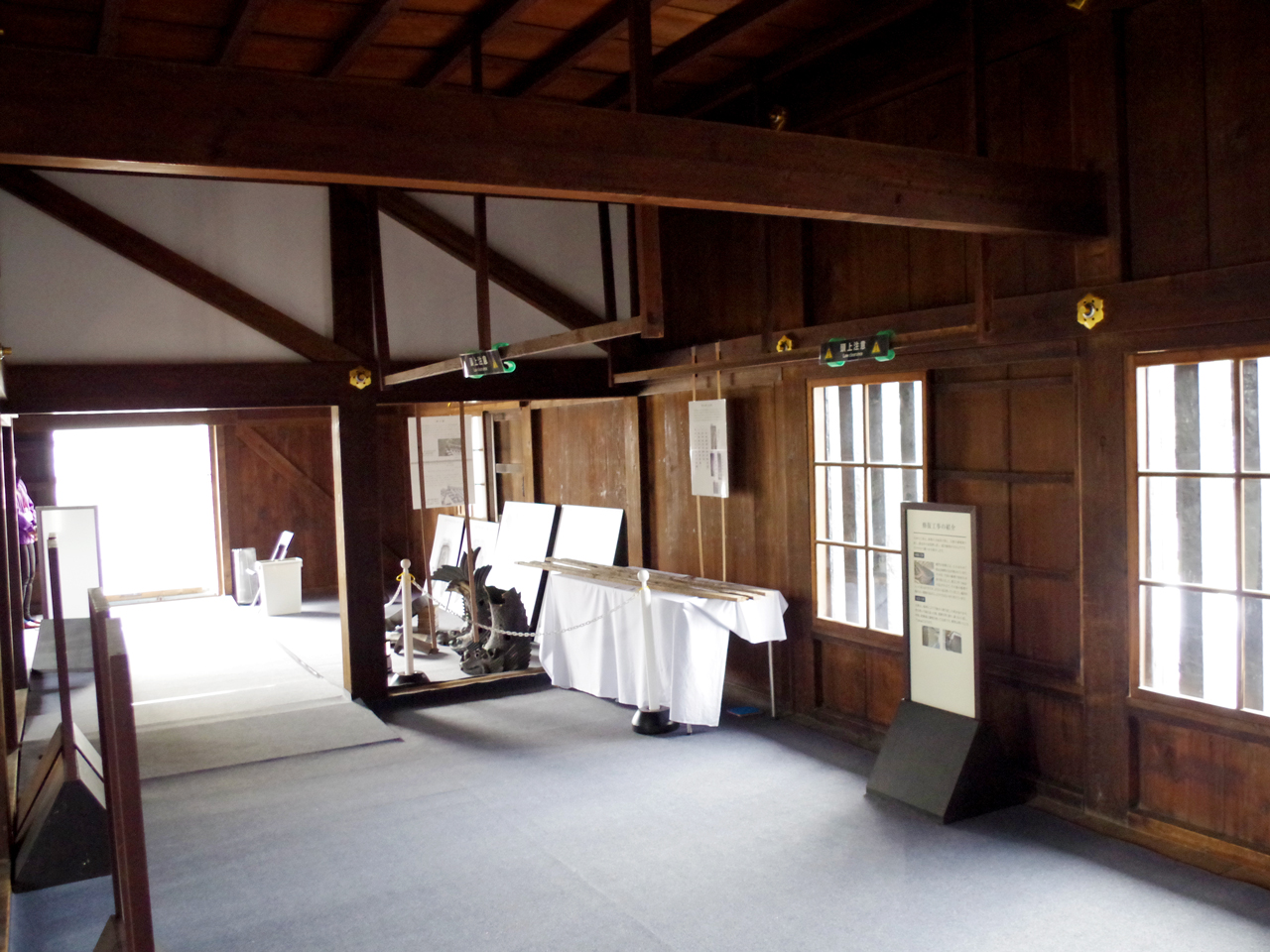 二条城の東大手門内部