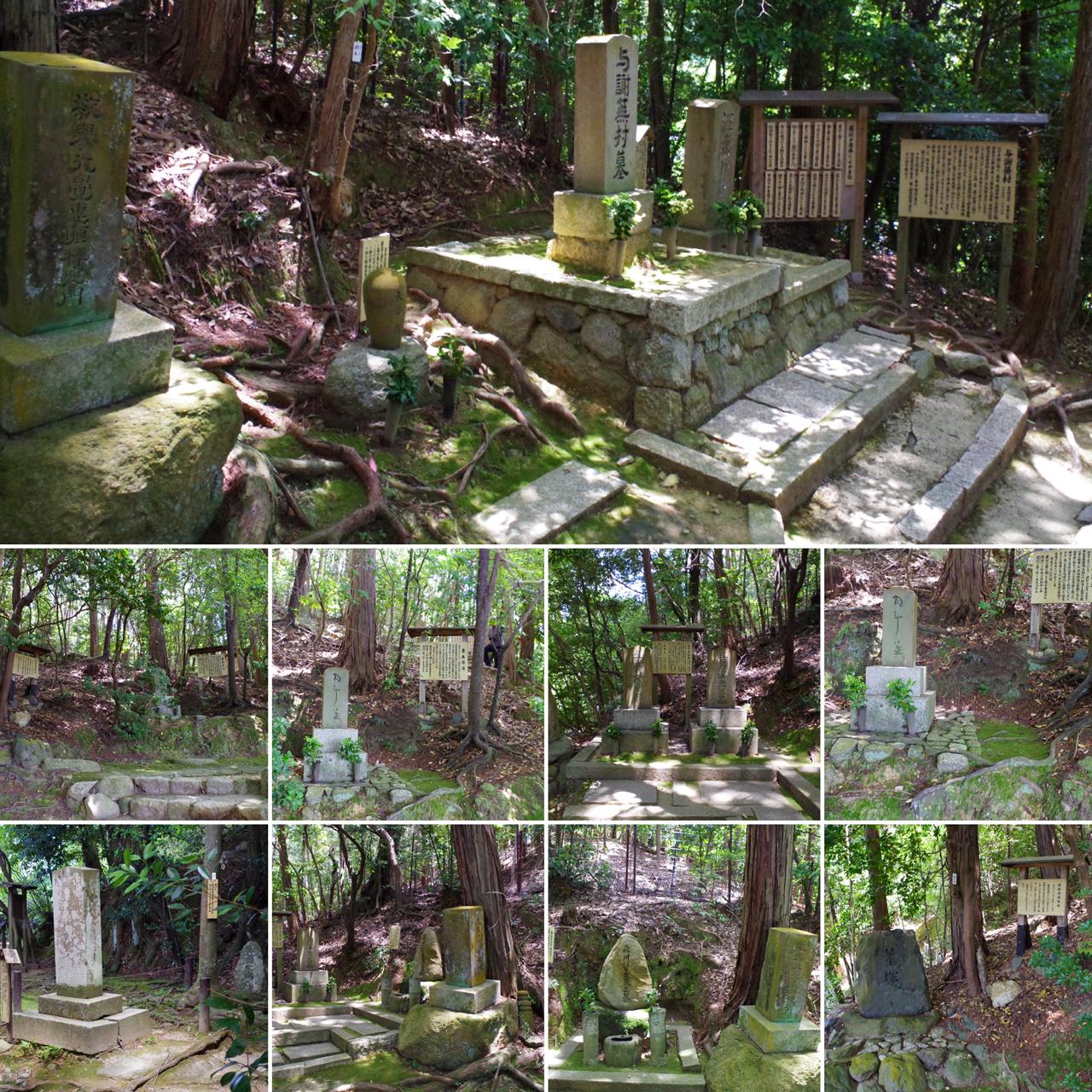 金福寺の与謝蕪村の墓など