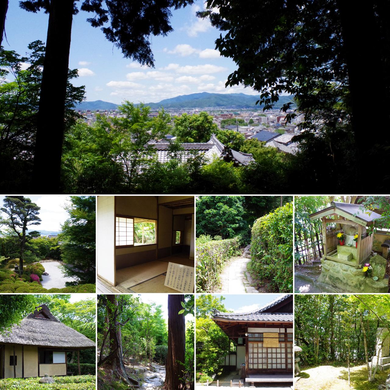 金福寺の風景