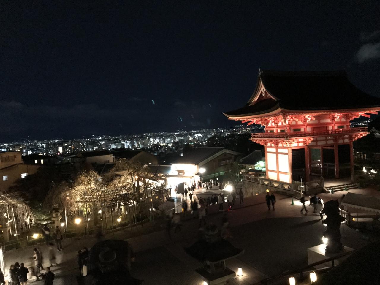 高台寺周辺の清水寺