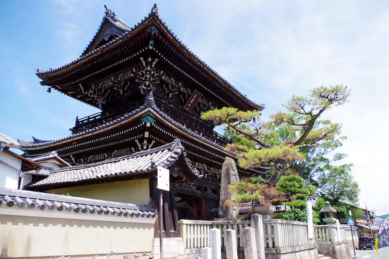 祇王寺周辺の清涼寺