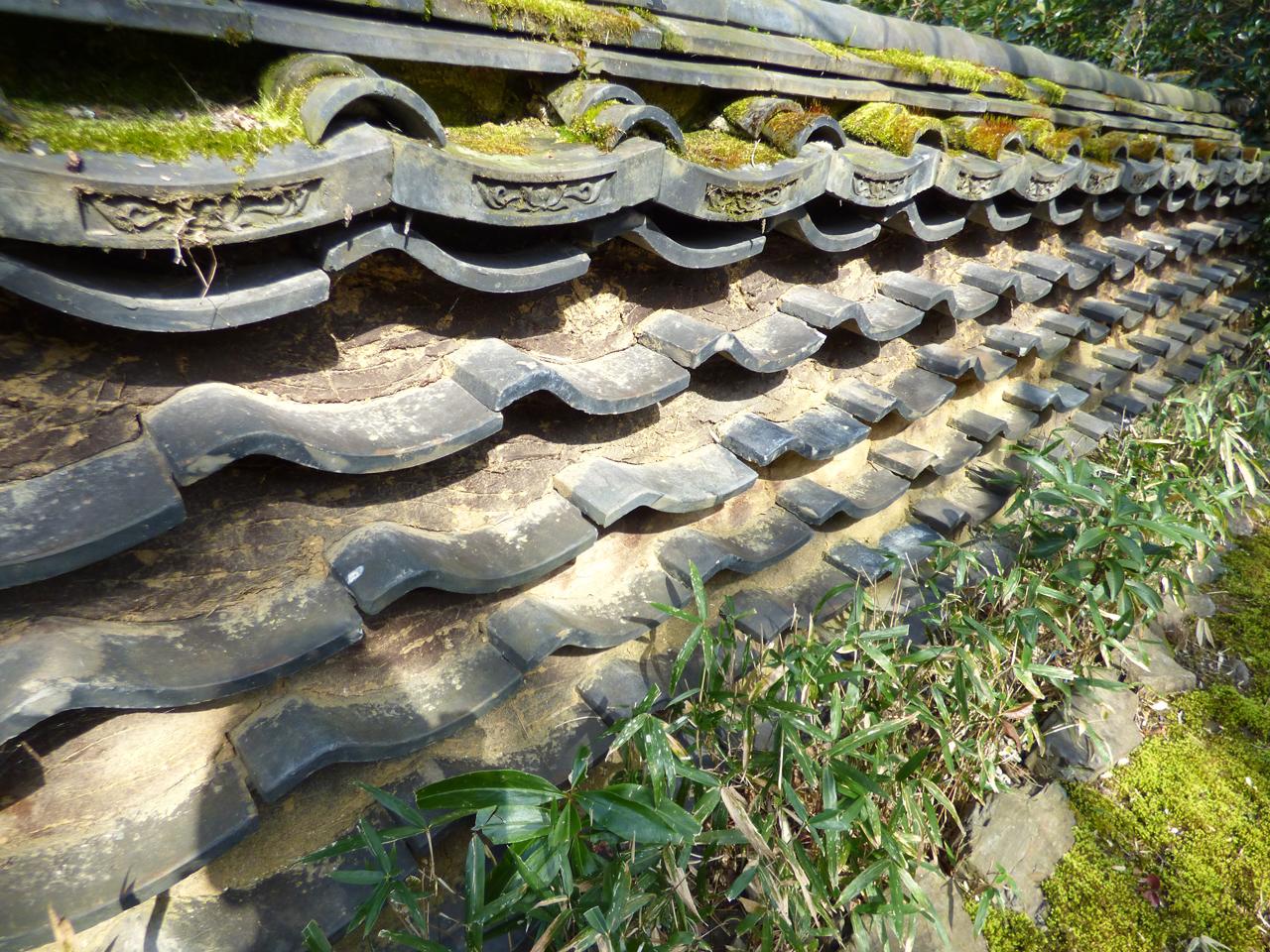 安楽寺の塀