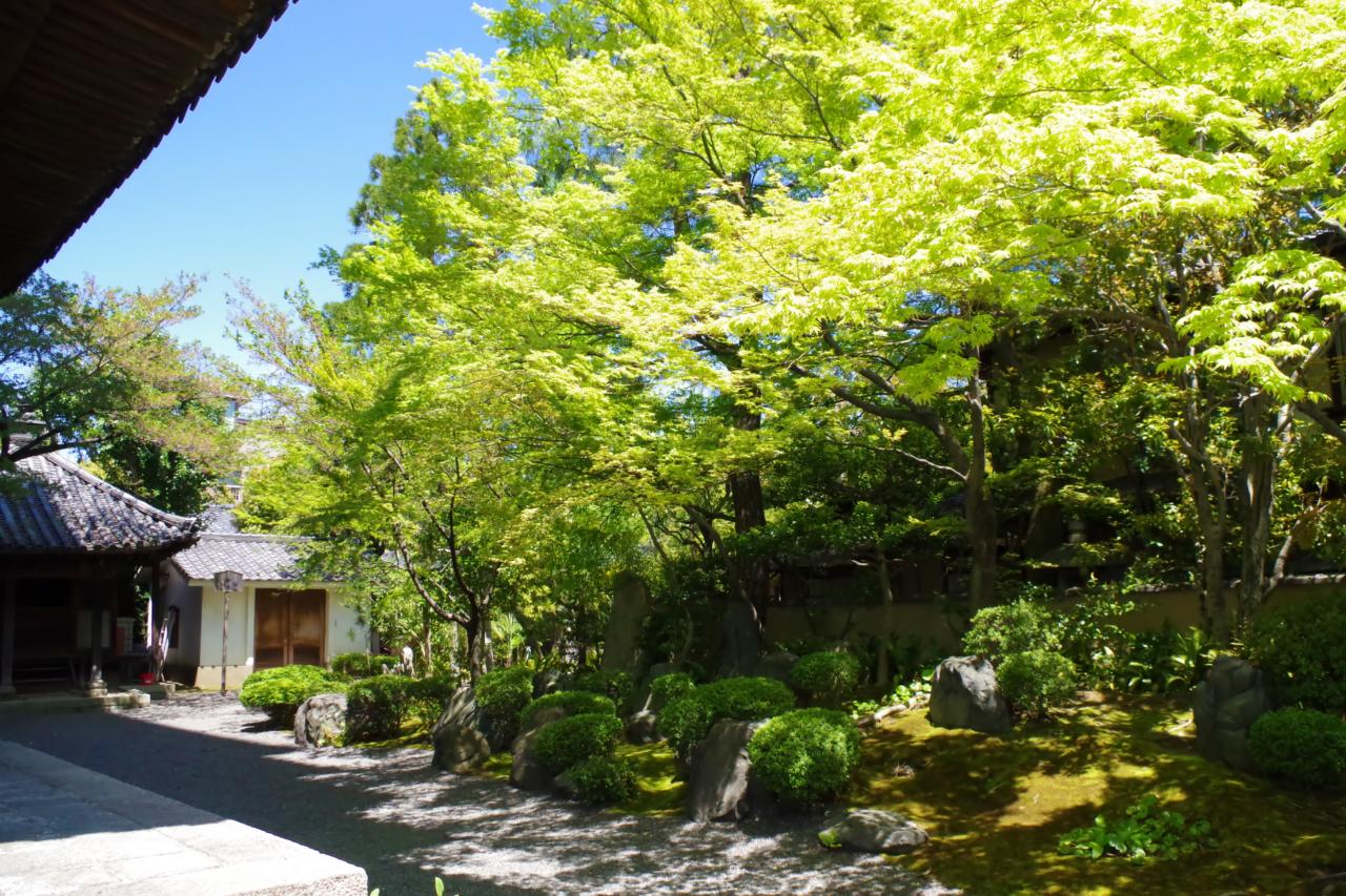 八坂の塔(法観寺)の庭