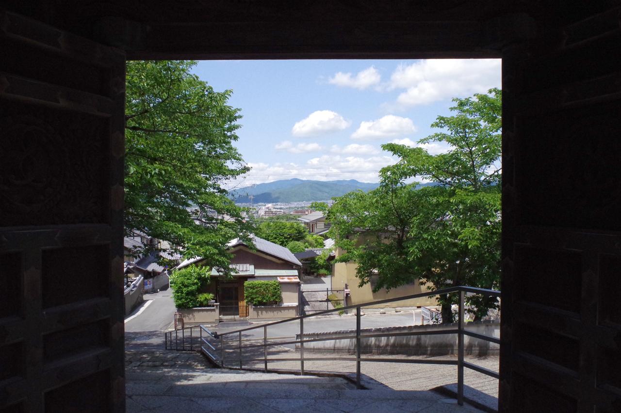本願寺北山別院からの町の眺め