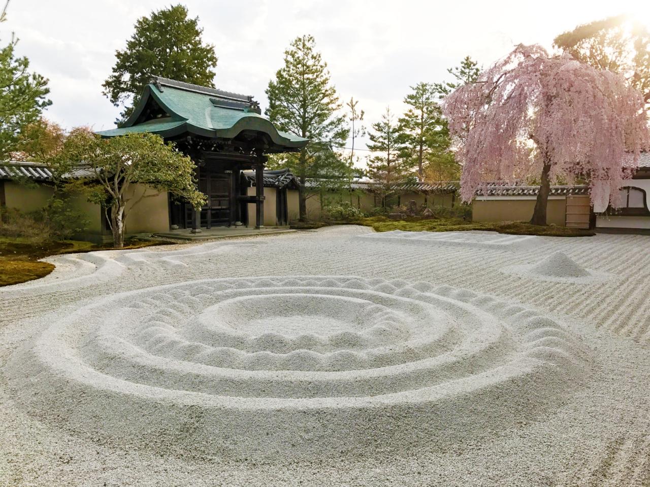 高台寺の方丈庭園・波心庭