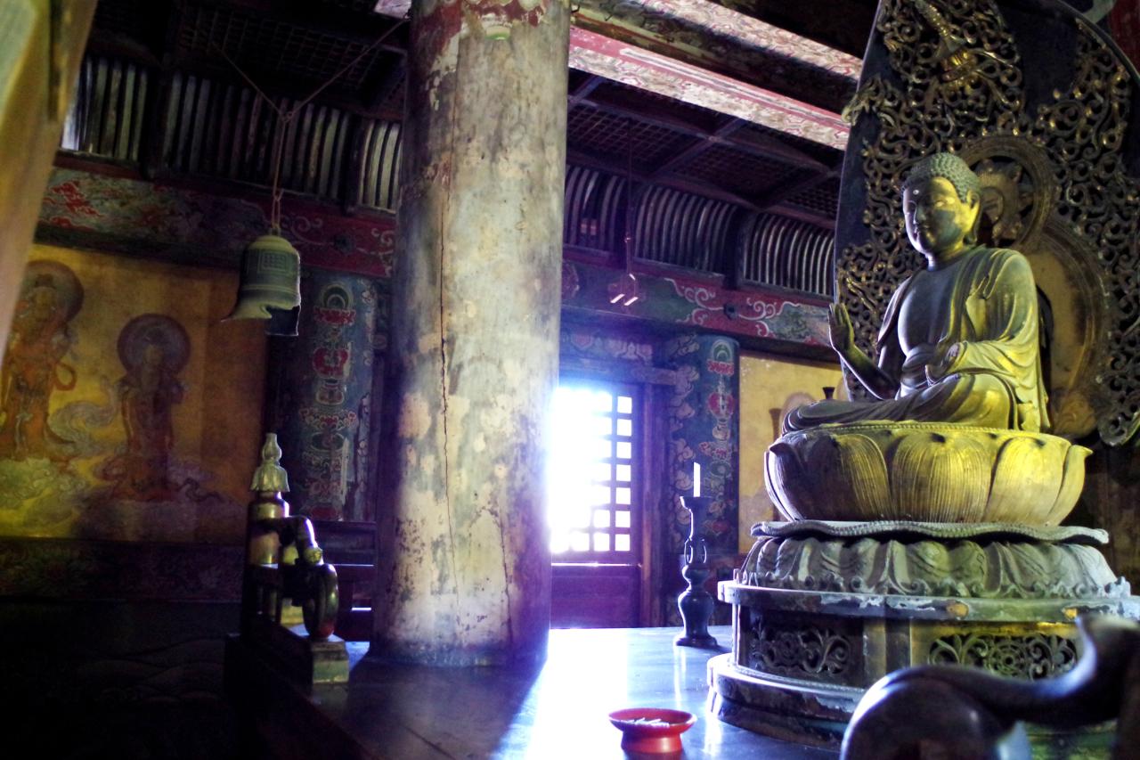 八坂の塔の仏像