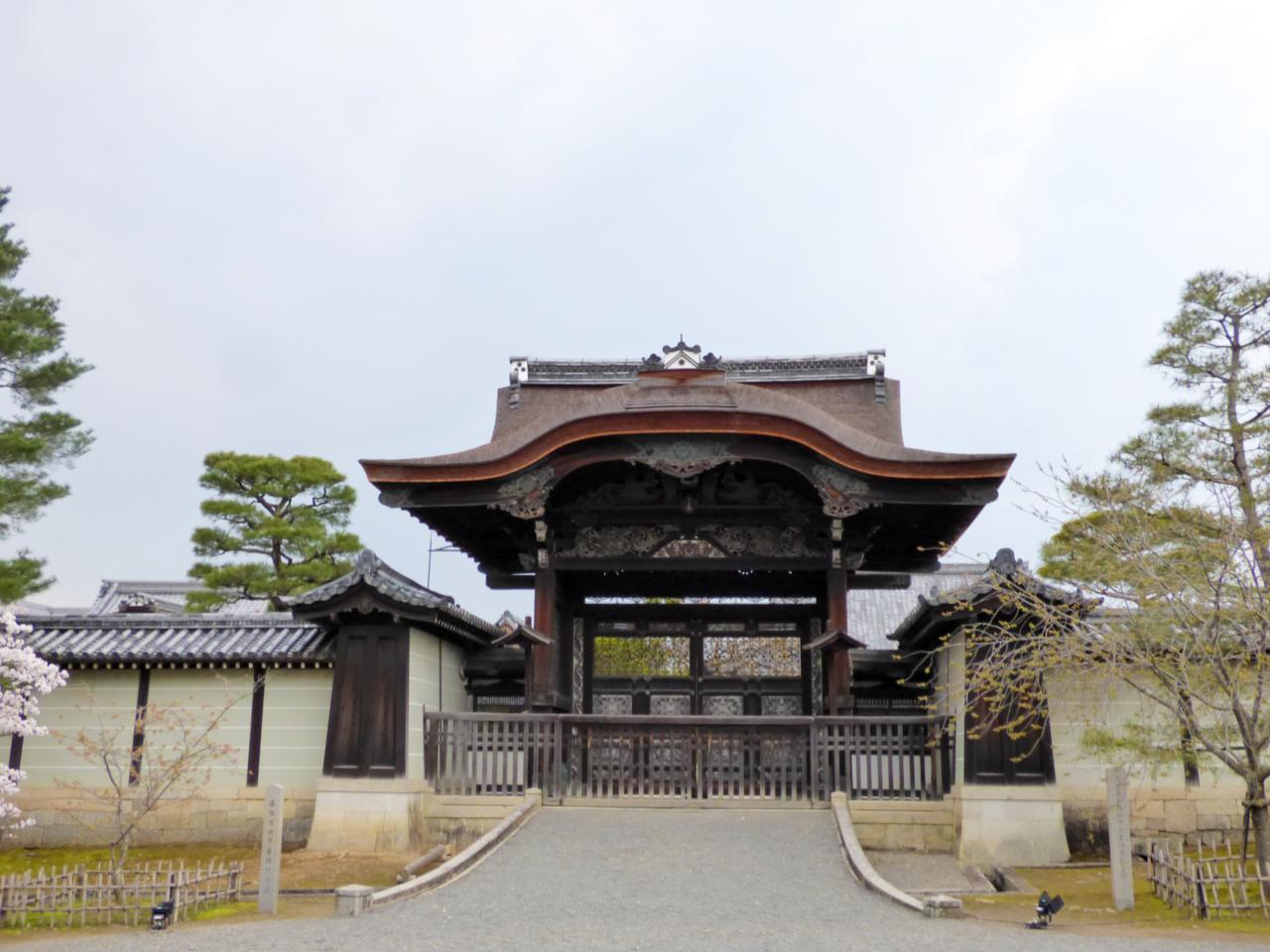 仁和寺の勅使門