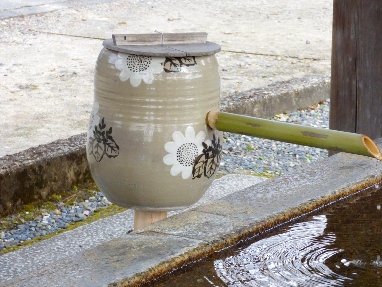 豊国神社の手水舎