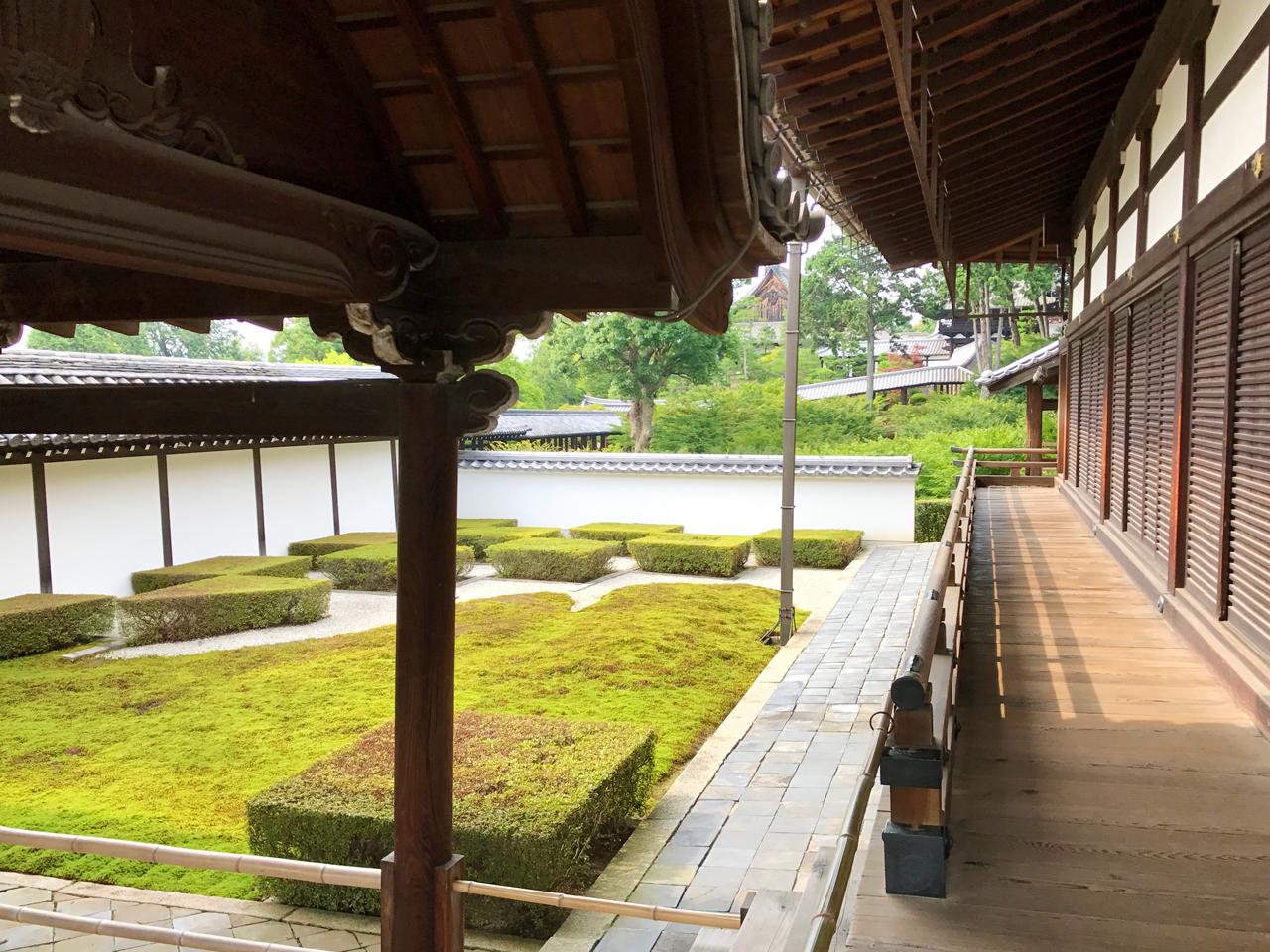 東福寺本坊庭園の西庭