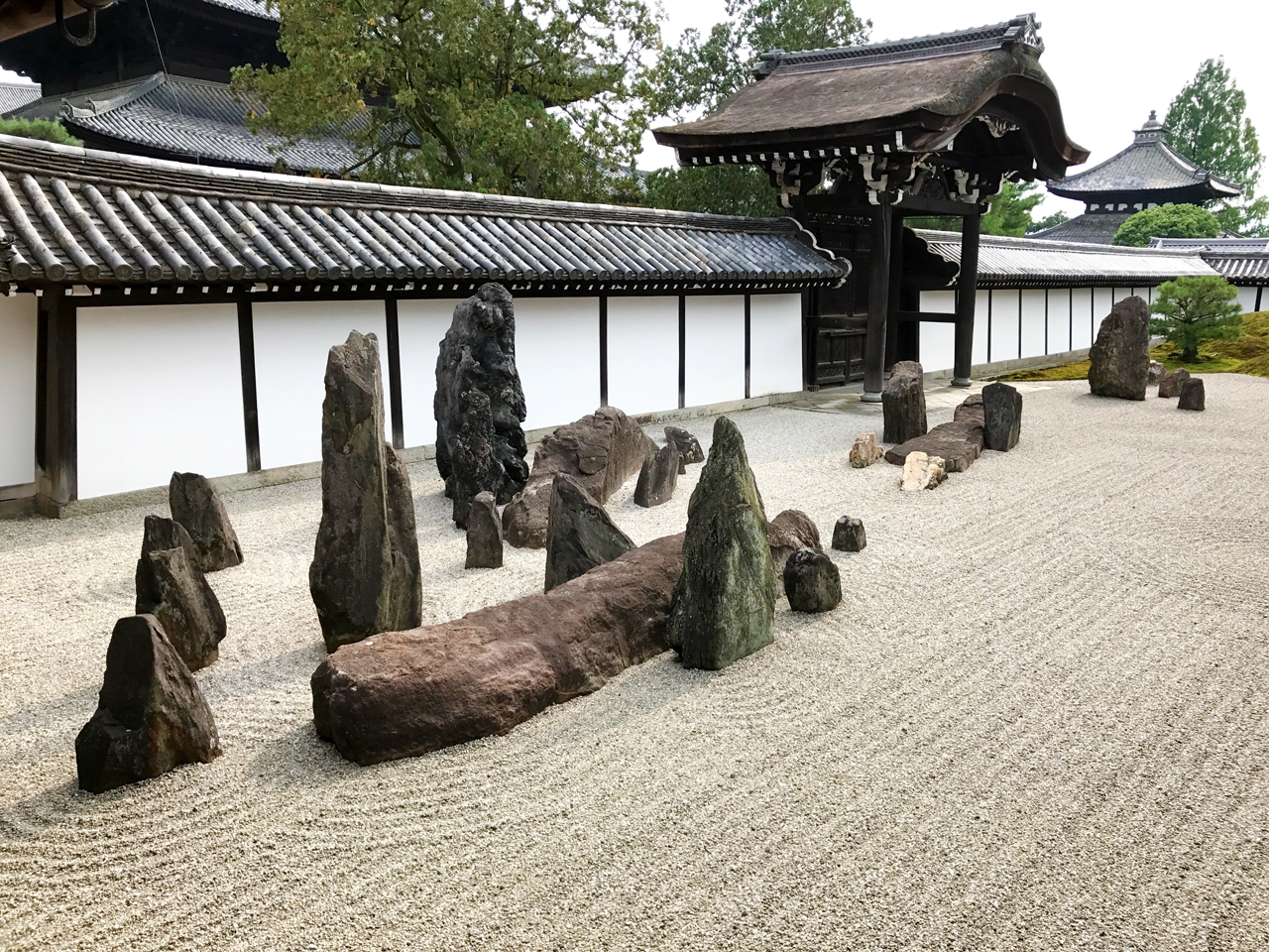東福寺本坊庭園の南庭
