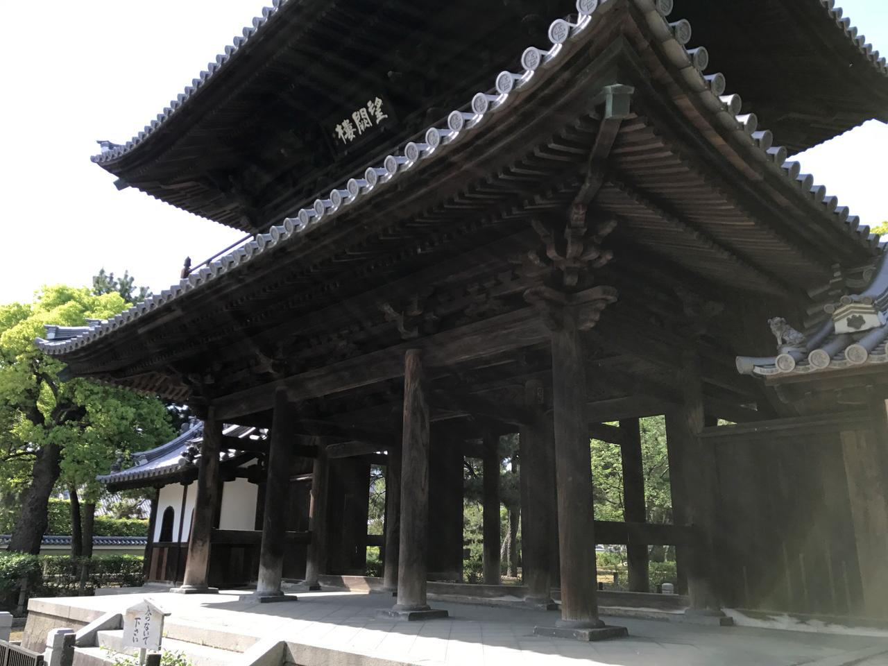 建仁寺の山門 望闕楼